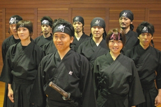 Samurai exercise members2